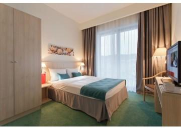 Стандарт 2-местный с одной кроватью | Отель Сочи Парк 3*