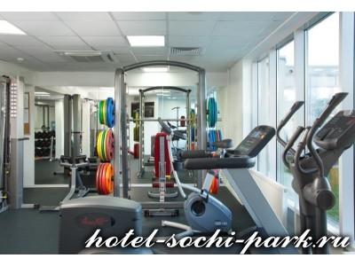 Отель Сочи Парк 3*,  Тренажерный зал