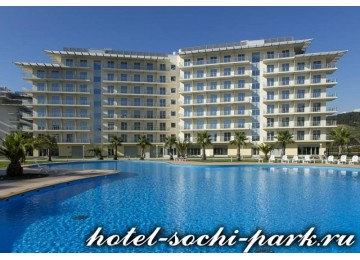 Территория отеля | Отель Сочи Парк 3*